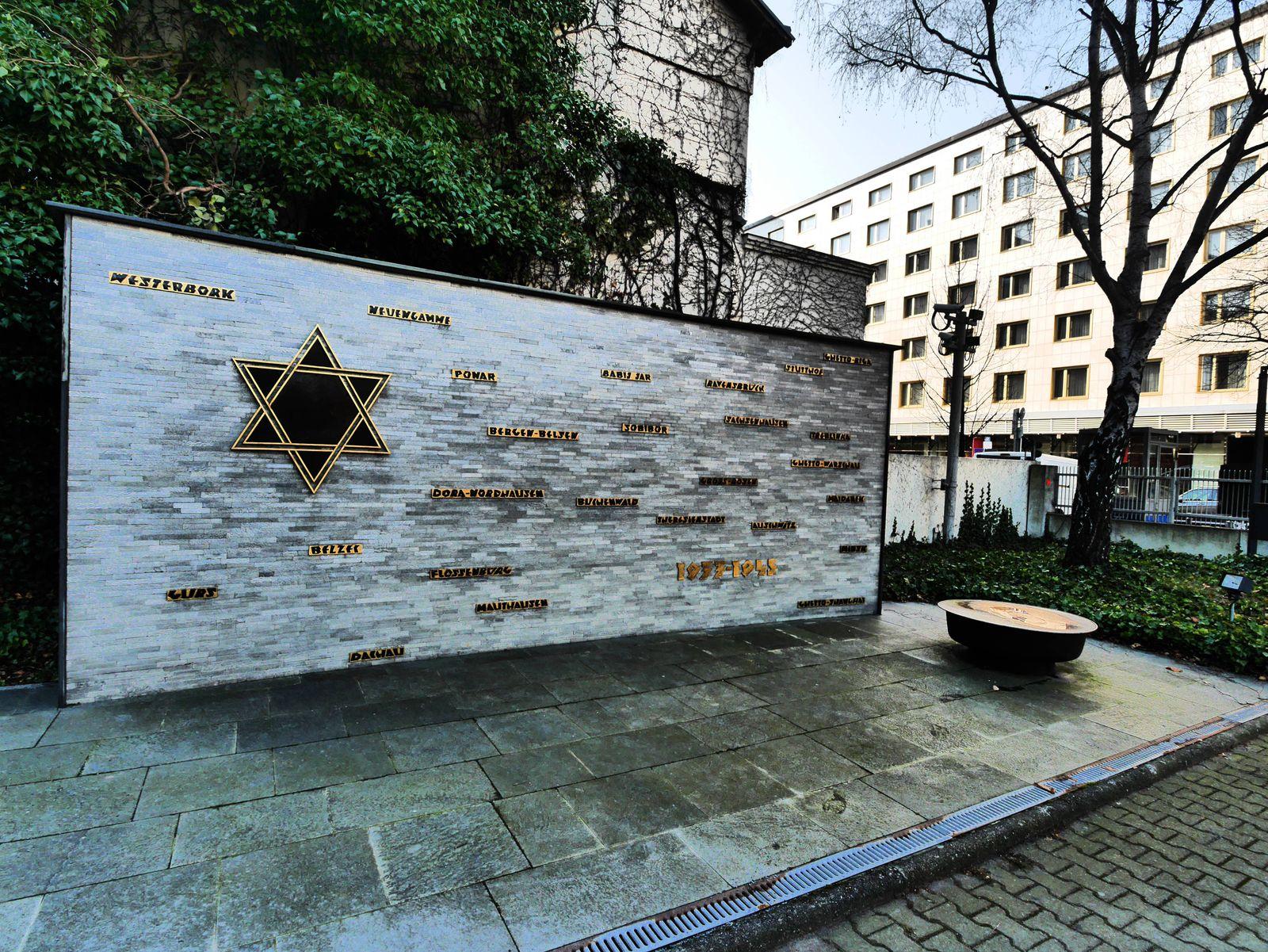 Berlin Charlottenburg Fasanenstraße Jüdisches Gemeindehaus und Synagoge Juden jüdische Fasanenst