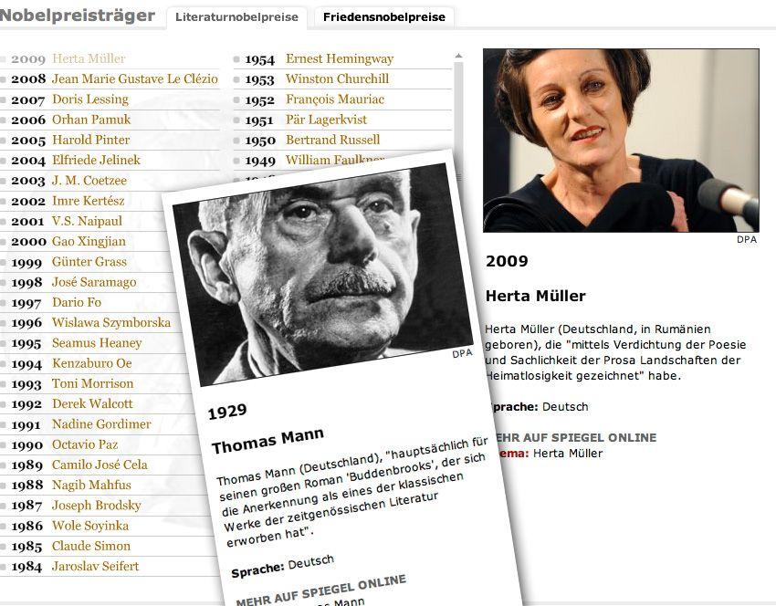 Flash Nobelpreis Literatur