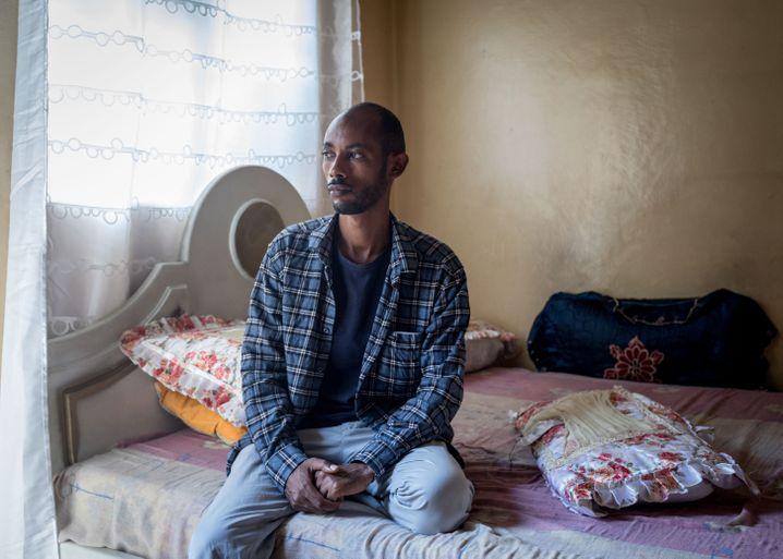 Solomon Kabede, 35, ehemaliger politischer Gefangener