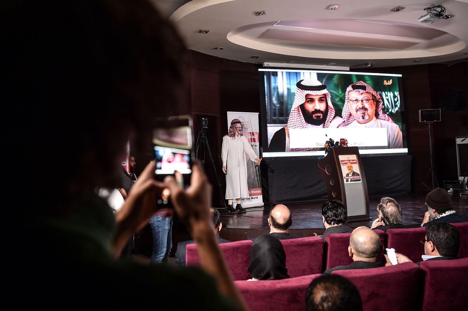 Mohammed bin Salman/ Khashoggi