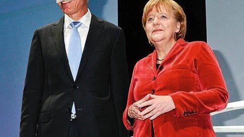 Zetsche, Merkel