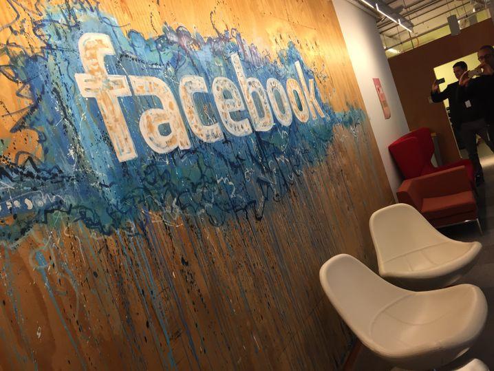 Schön bunt: Die Facebook-Zentrale in Dublin kümmert sich um alle Nutzer außerhalb von Nordamerika