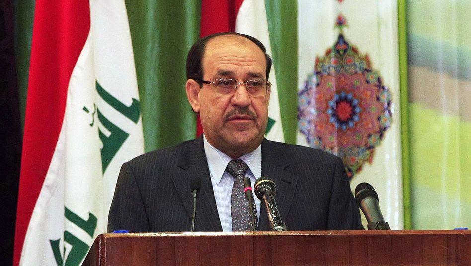 Premierminister Nuri Al-Maliki: Er konzentriert die Macht in seinen Händen