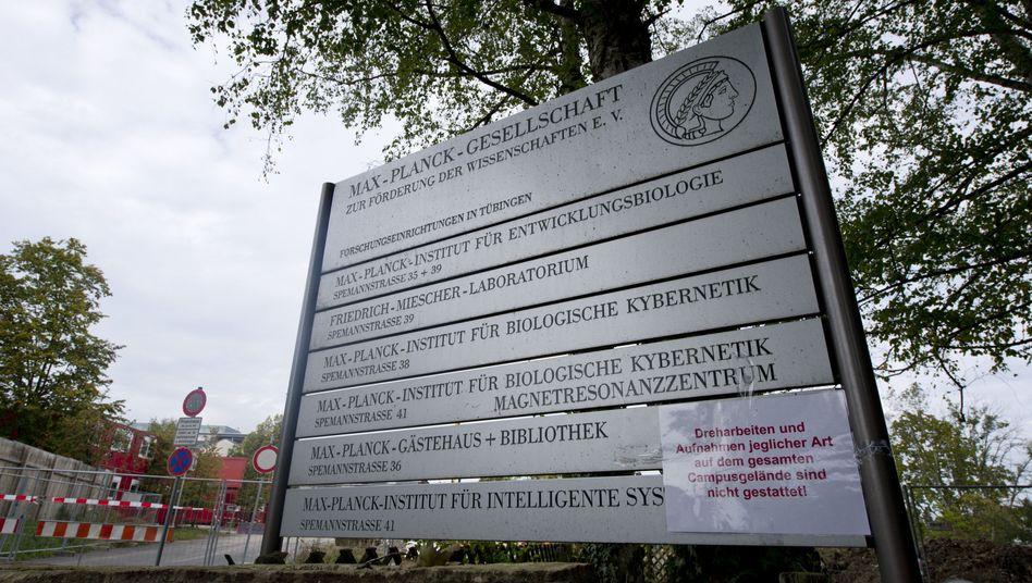 Gelände der Max-Planck-Gesellschaft in Tübingen: Forscher beendet Tierversuche