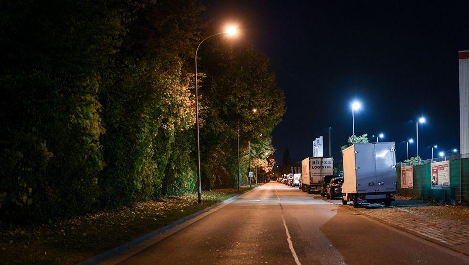 Freiburger Industriegebiet, in dem sich die Vergewaltigung ereignet haben soll (Archiv)