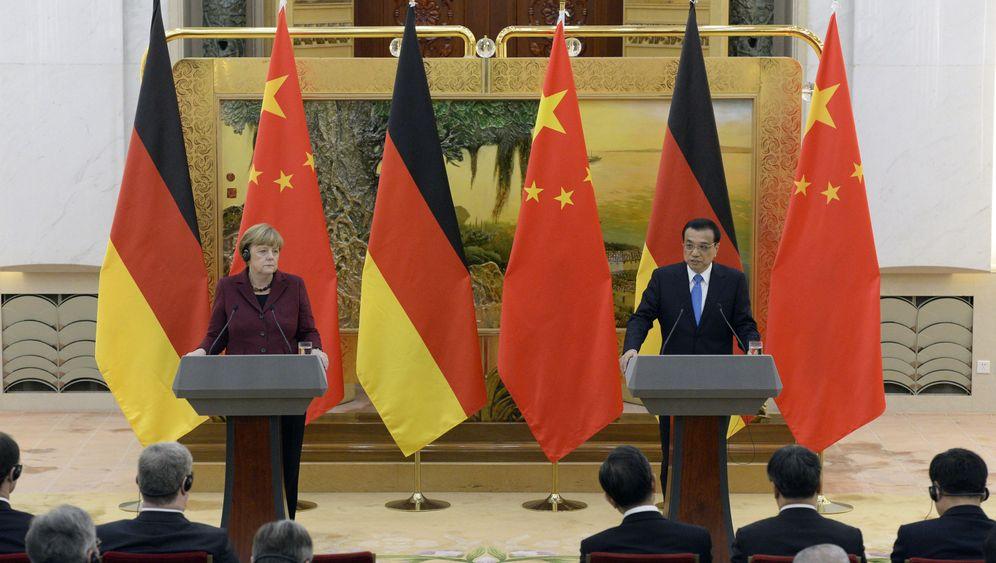 Merkel in China: Win-win in Peking