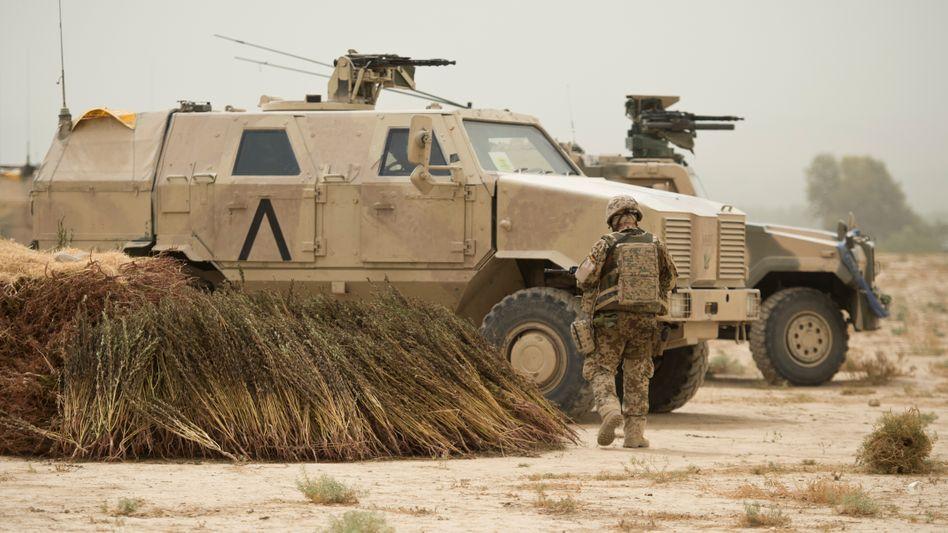 Bundeswehr in Kunduz (Archivaufnahme): Tausende Schutzsoldaten sollen im Land bleiben