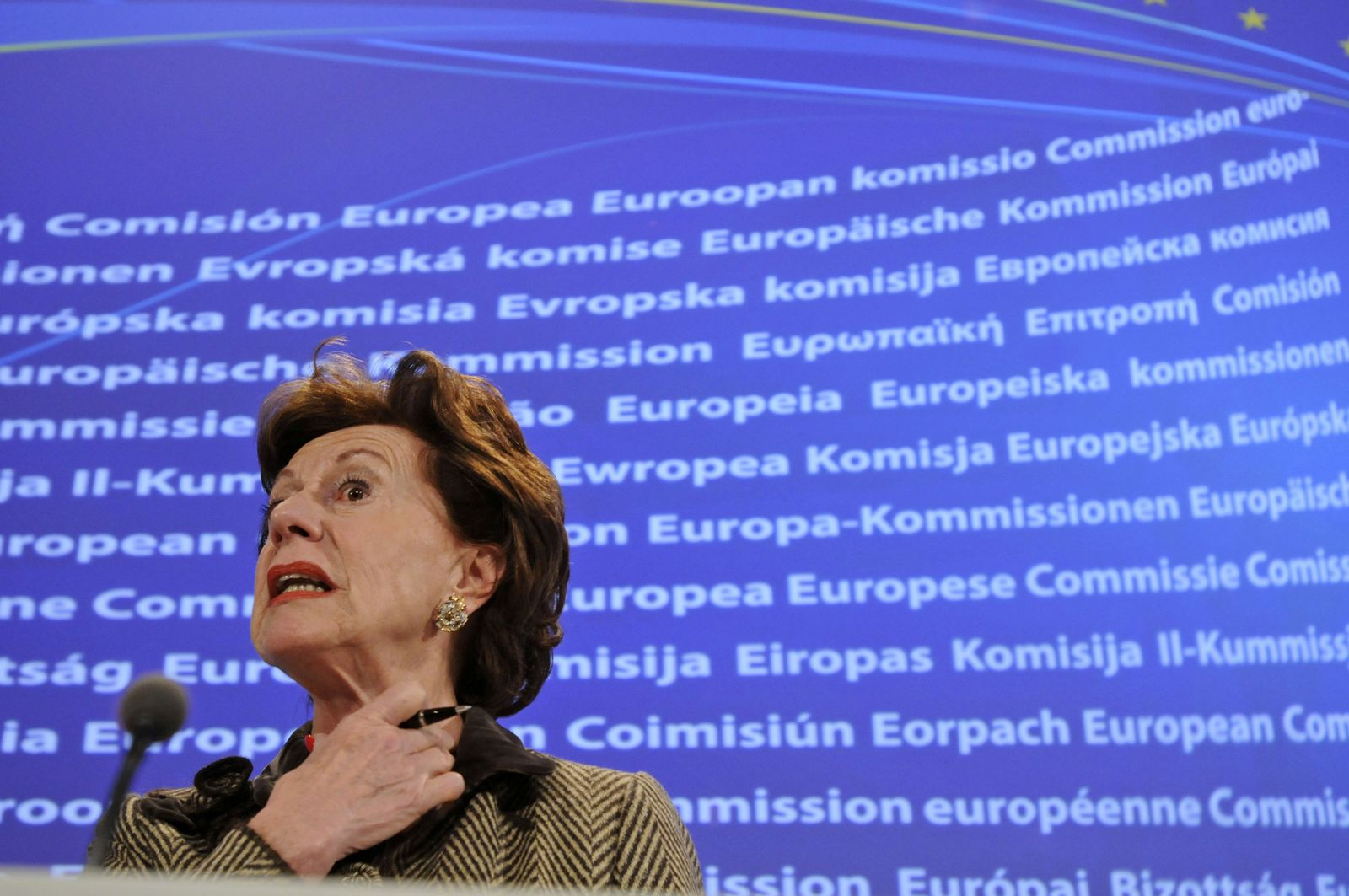 EU Kroes Microsoft Kartell