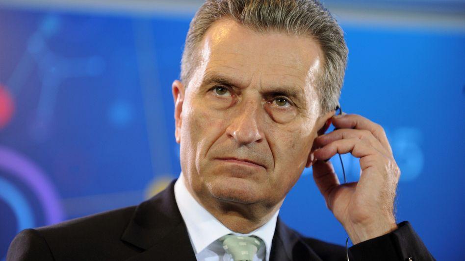 Günther Oettinger (CDU): Menschenverachtender Ausfall gegen Petry