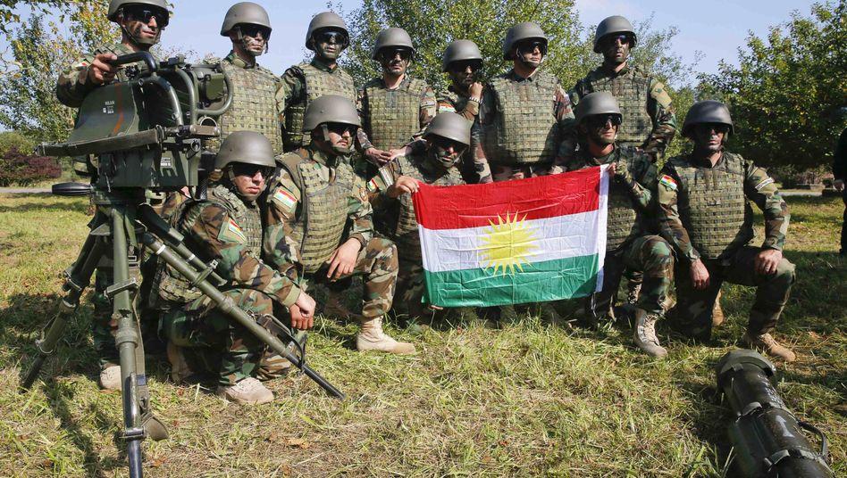Krieg in Syrien: Türkeilässt Peschmerga-Kämpfer nach Kobane