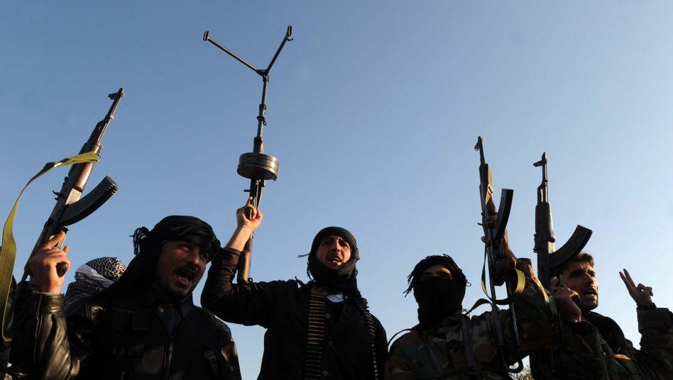 Kämpfer der Freien Syrischen Armee: Gewalt gegen Andersgläubige als legitim betrachtet