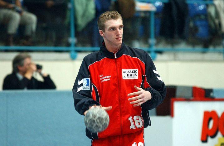 Das Jahr 2001: Glandorf betritt die Handballbühne, sein Verein ist damals die HSG Nordhorn