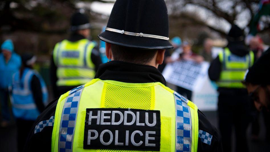 Polizeieinsatz in Swansea (Archivbild): »Vollkommen inakzeptabel«