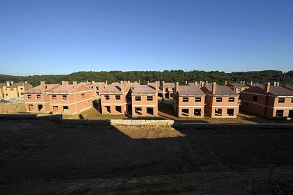 Bauruinen bei Mino: Spanien steht vor der Rezession