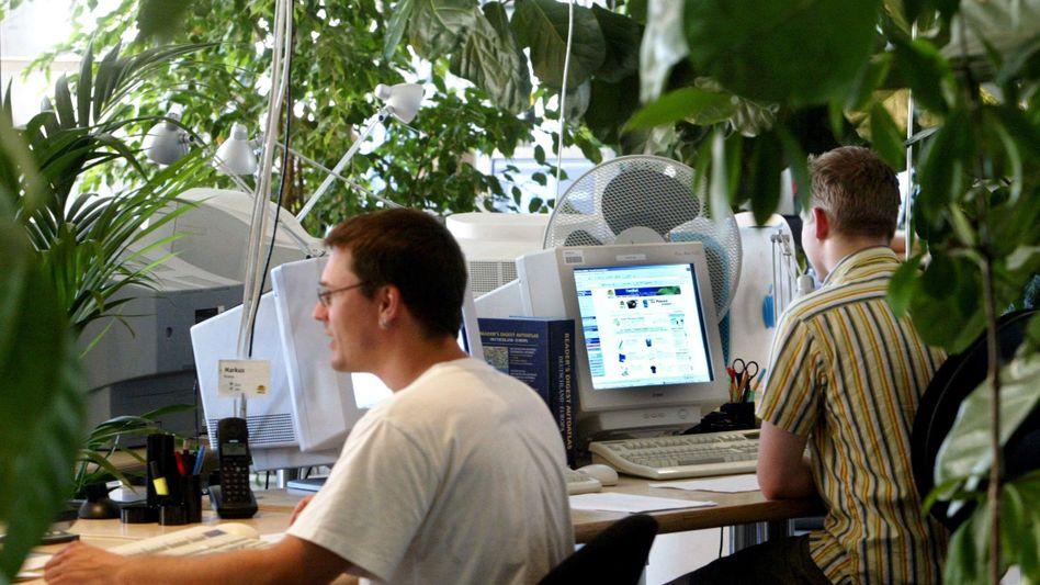 Büroarbeiter: Langes Sitzen ist alles andere als gesund