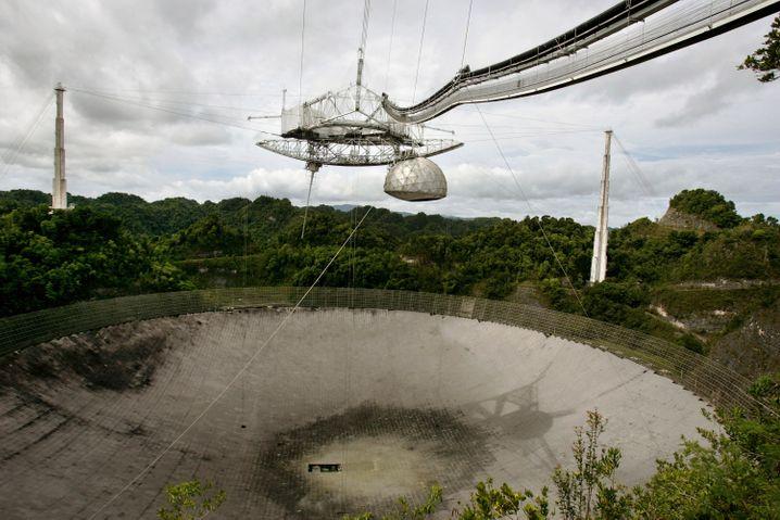 Archivbild des Radioteleskops aus dem Jahr 2007