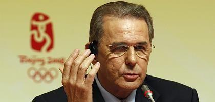 """IOC-Präsident Rogge: """"Einfach exzellent, ausgezeichnet, fehlerlos"""""""