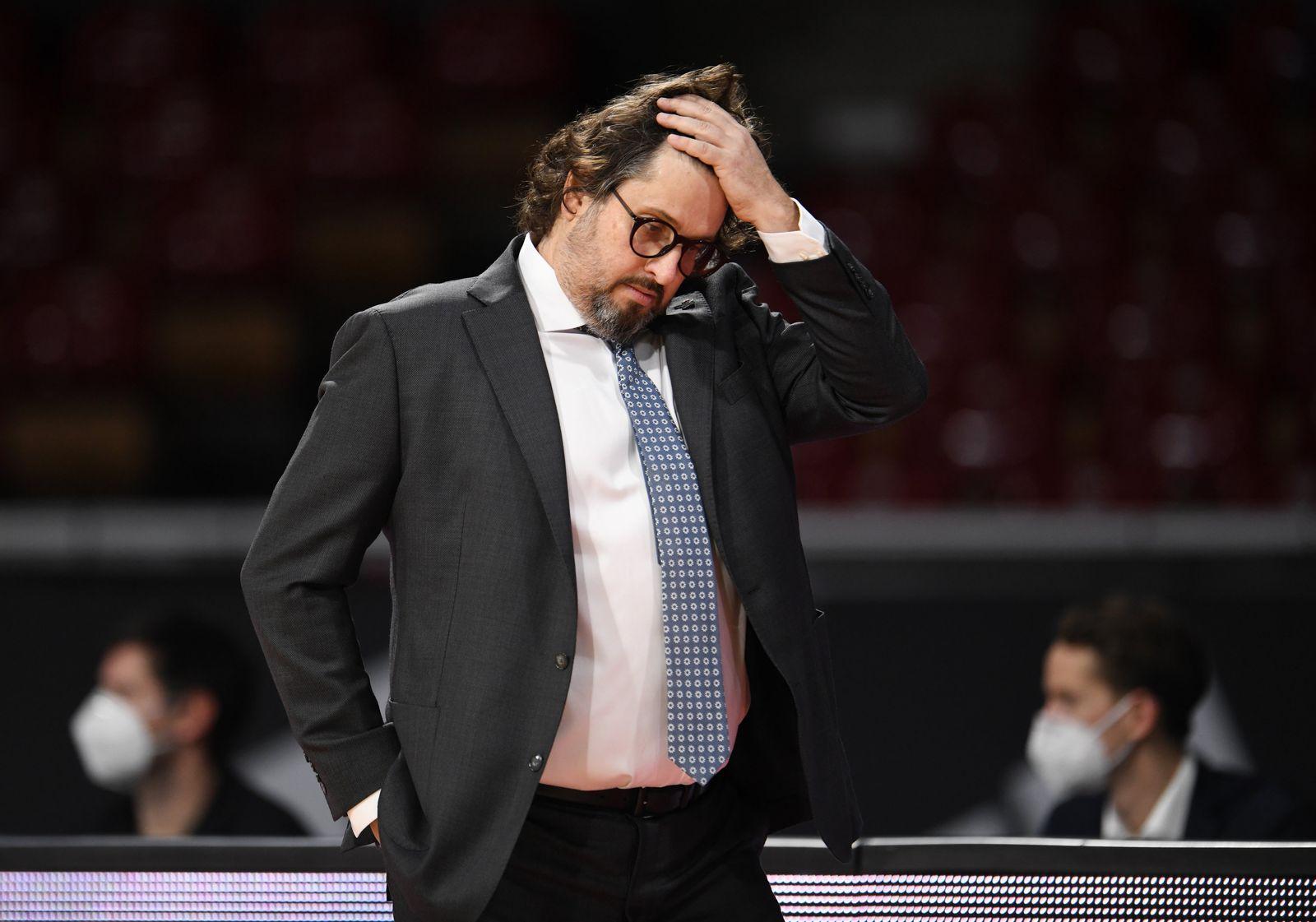 Bayern Basketballtrainer Andrea Trinchieri