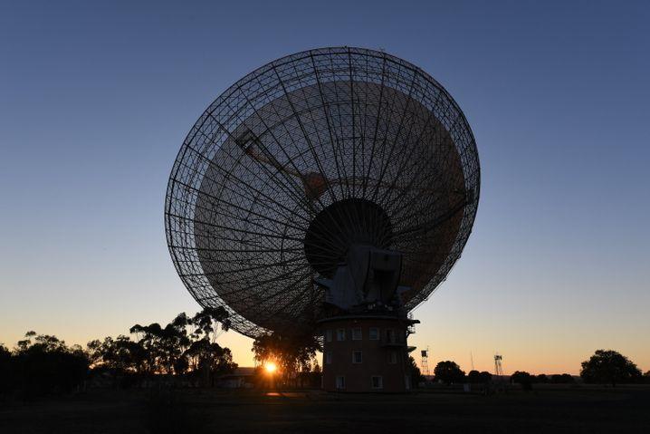CSIRO Radio Teleskop des Parkes-Observatorium, New South Wales, Australien