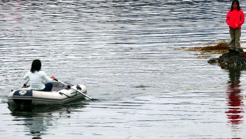 """Kind in Grönland: """"Wir brauchen keine Fischer und Jäger."""""""