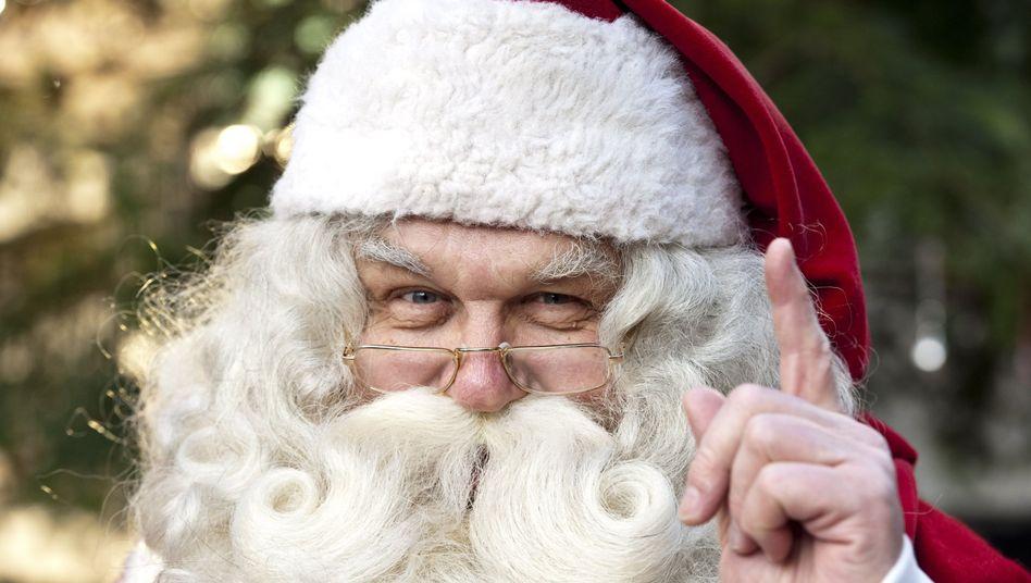 Wer ist der mysteriöse Weihnachtsmann? (Symbolbild)