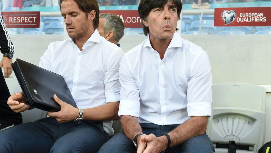 Co-Trainer Thomas Schneider, Joachim Löw: Zu Gast in Faro