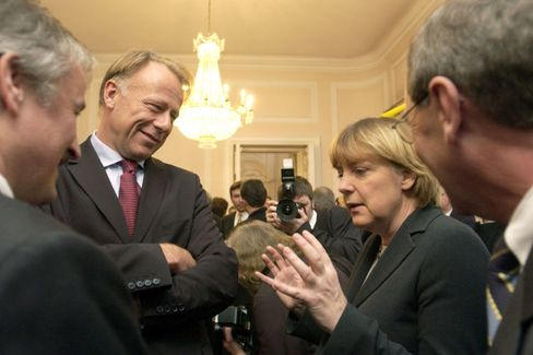 Politiker Trittin, Merkel: Ironie kann tückisch sein