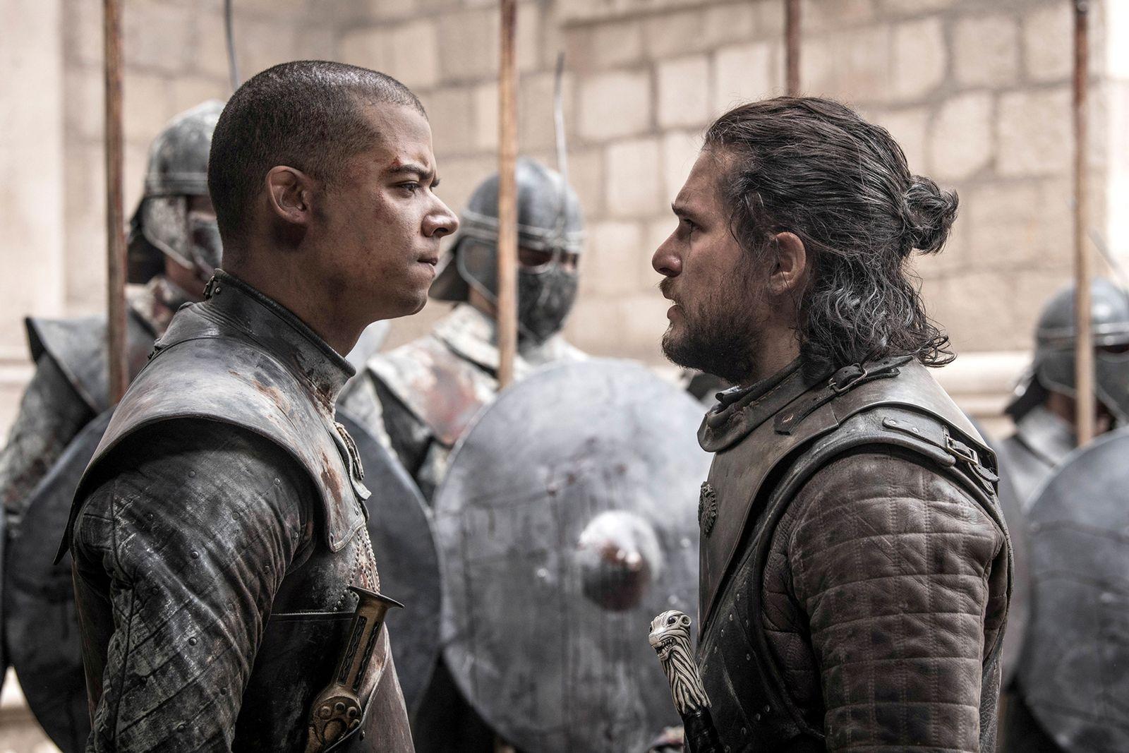 EINMALIGE VERWENDUNG Serie/ Game of Thrones St. 8/ Folge 6