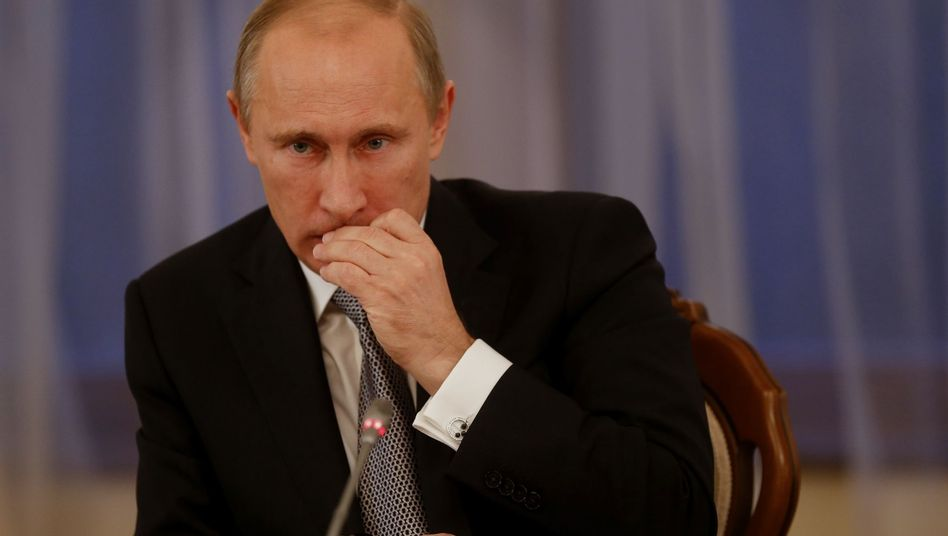 """Russlands Präsident Putin: """"Sie sind handgreiflich geworden"""""""