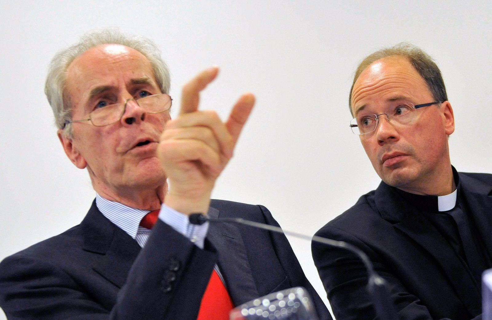 Bischofskonferenz/ Missbrauch/ Aufarbeitung/ Christian Pfeiffer/ Stephan Ackermann