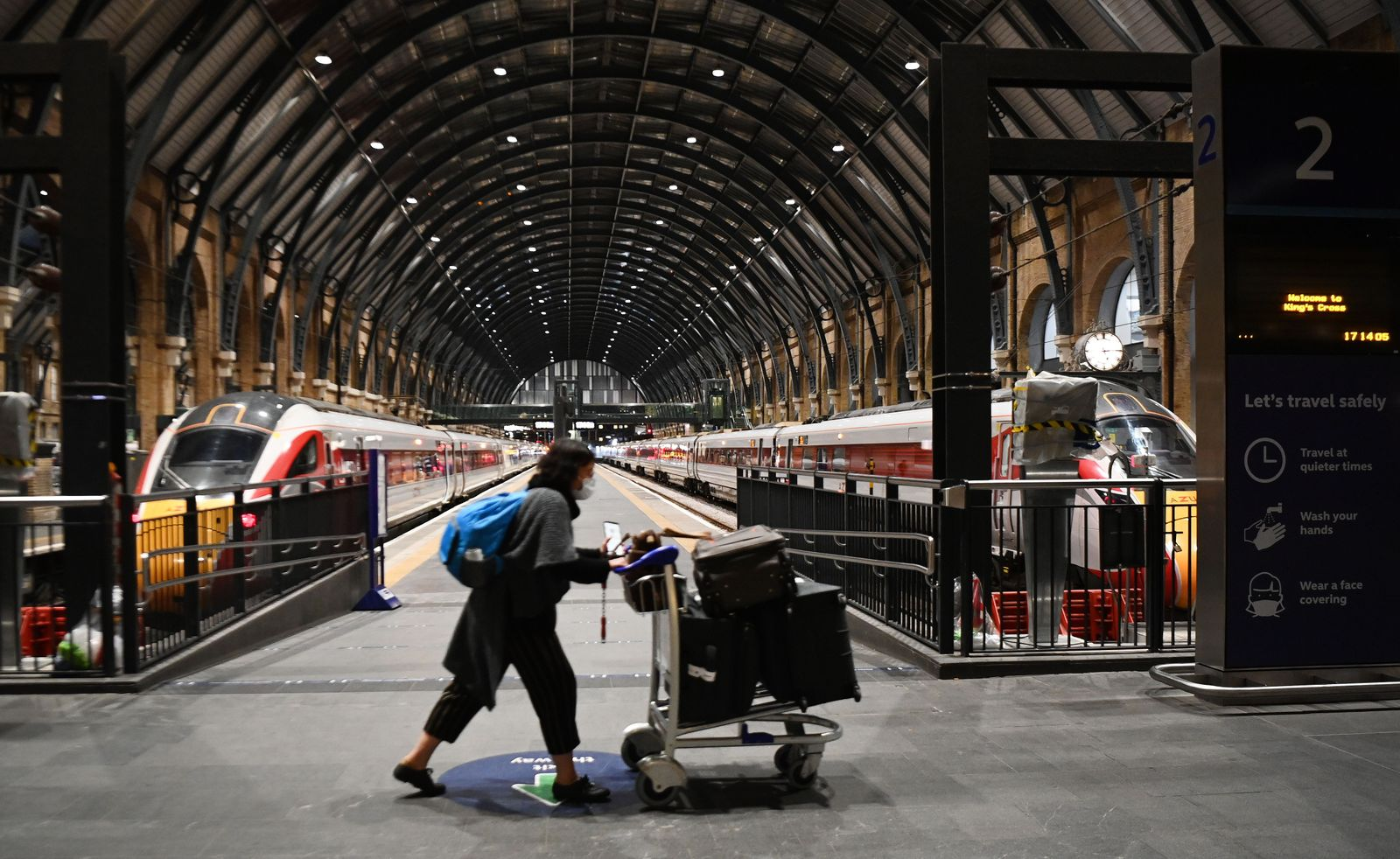 France and other European nations ban travel from UK, London, United Kingdom - 20 Dec 2020