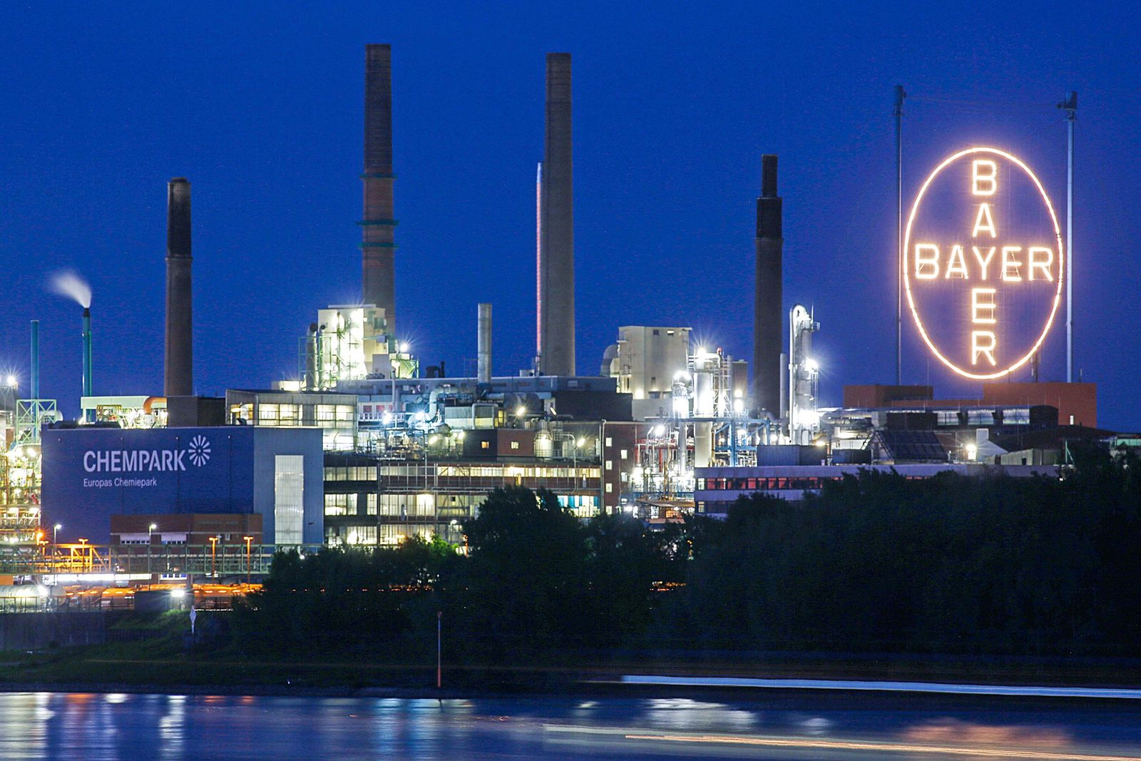Bayer - Werk in Leverkusen