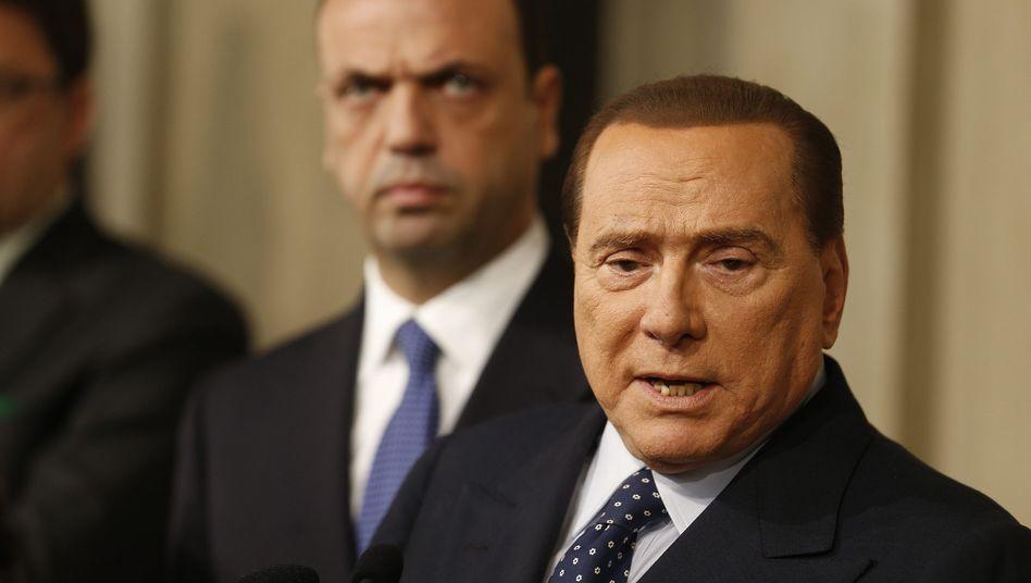 """Berlusconi nach Treffen mit Napolitano: """"Tragische Erfahrung"""" mit Technokraten"""
