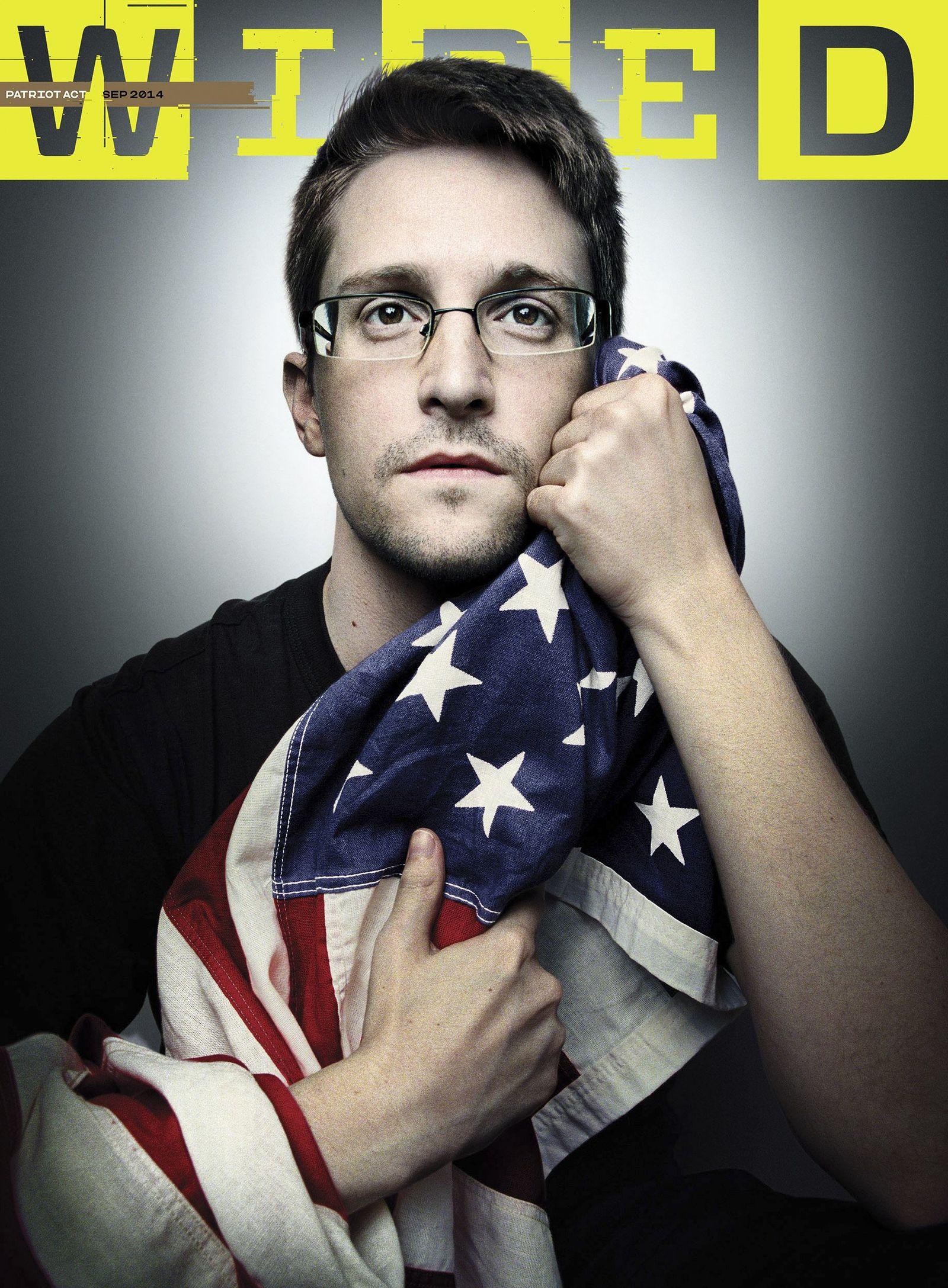 Wired Cover/ Edward Snowden/ Cyber/ Sicherheit/ NSA