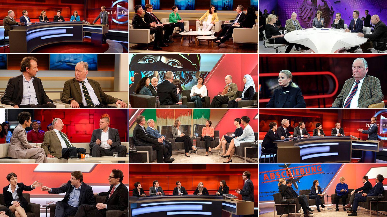 EINMALIGE VERWENDUNG TV-Talk AfD KOMBO
