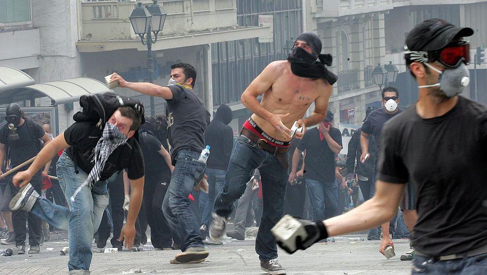 Protest in Griechenland: Zweifel, ob die Bevölkerung mitzieht