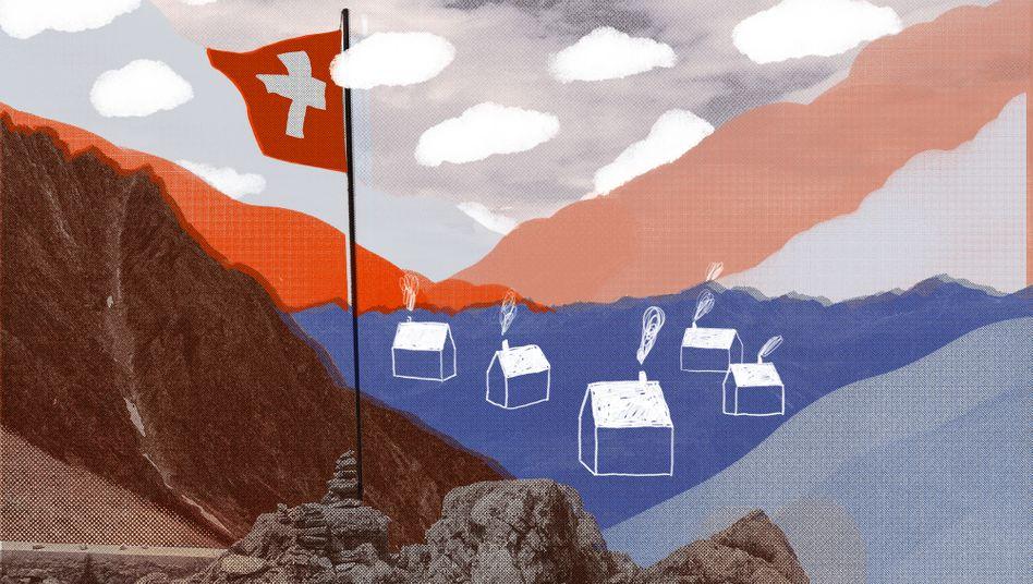 Schweiz und Corona: Nein, Panik war Mitte der Woche nicht zu verspüren.