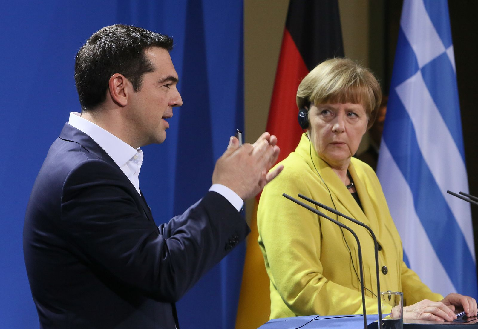 Alexis Tsipras in Berlin