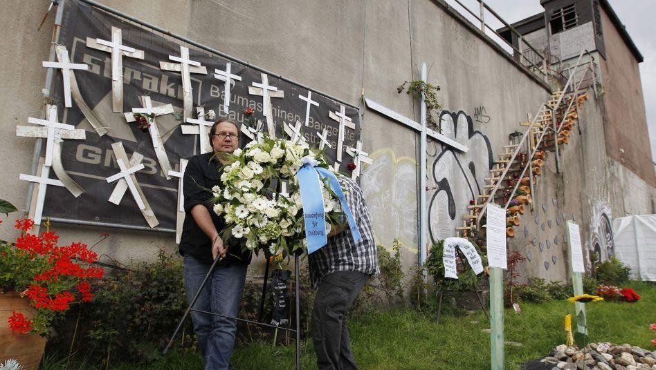 Gedenken an Love-Parade-Opfer: Stadt spricht von illegaler Veranstaltung