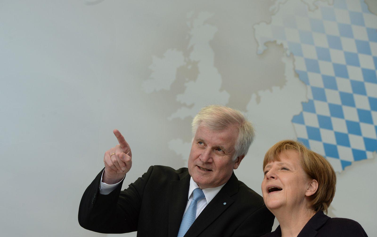 Merkel / Seehofer