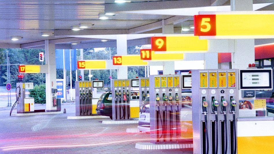 Shell-Tankstelle in Berlin (Archivfoto)
