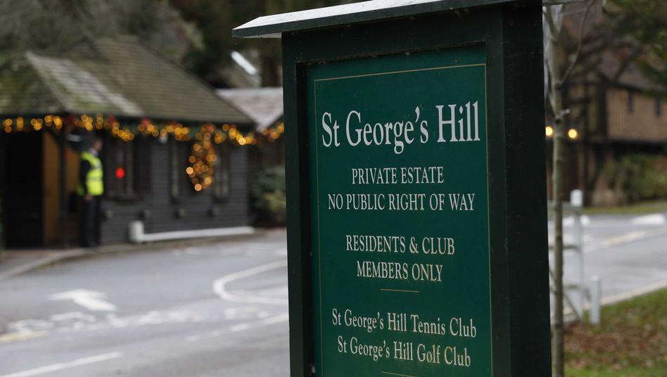 Weybridge in der südenglischen Grafschaft Surrey: Mysteriöser Tod eines Informanten