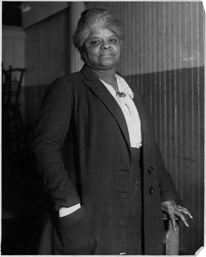 Aktivistin Ida B. Wells, aufgenommen 1920.