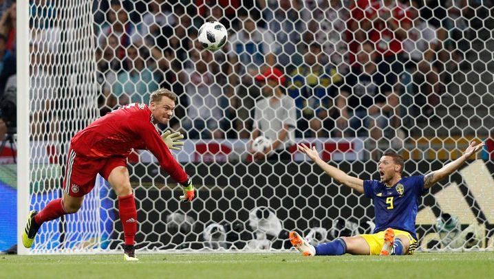 DFB-Sieg gegen Schweden: Rudys blutige Nase und ein Last-minute-Traumtor