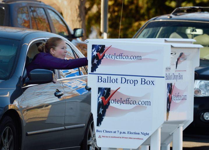 Wahlurne in Denver