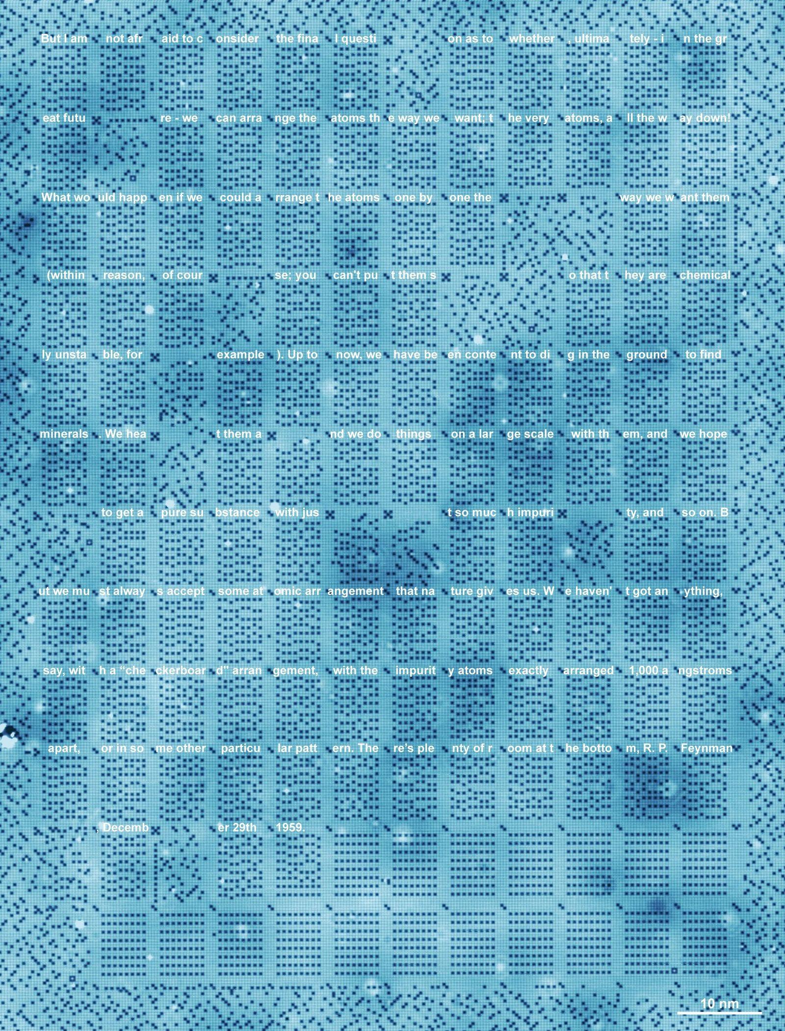 Datenspeicher auf Chloratomgitter - SPERRFRIST 17 Uhr