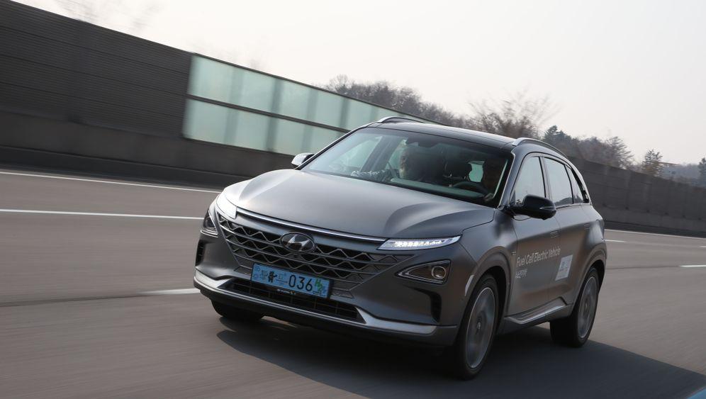 Autogramm Hyundai Nexo: Mit selbst gemachtem Strom