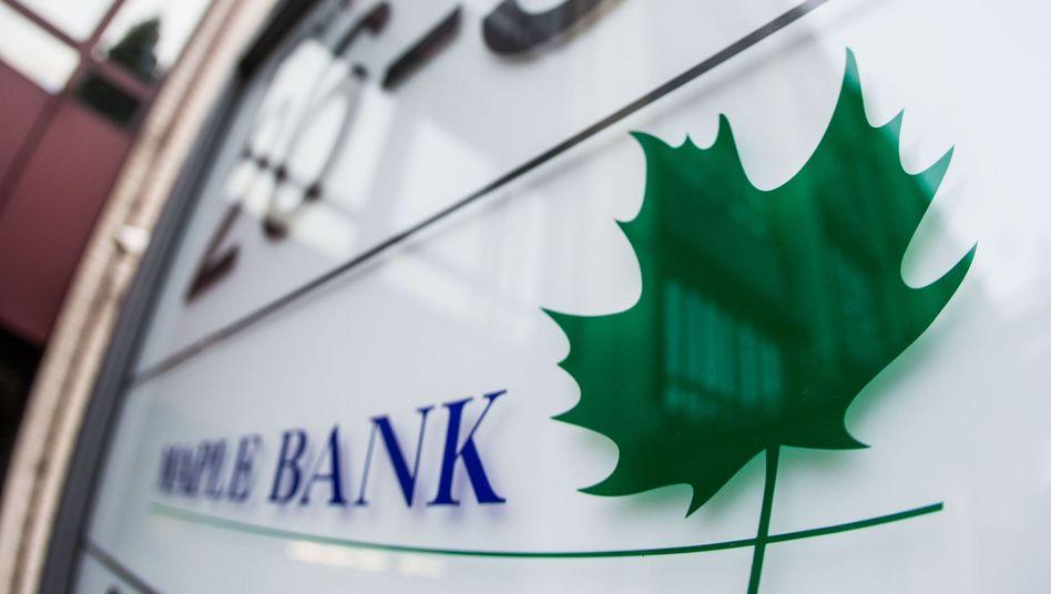 Firmenlogo der Maple Bank