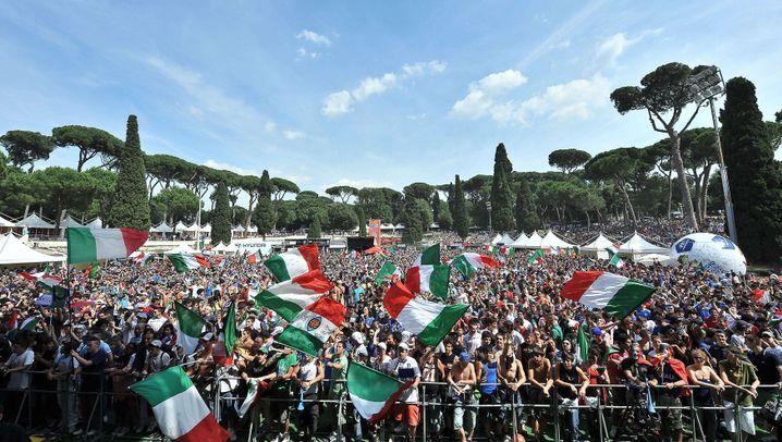 Italiens WM-Aus: Tränen von Mailand bis Neapel