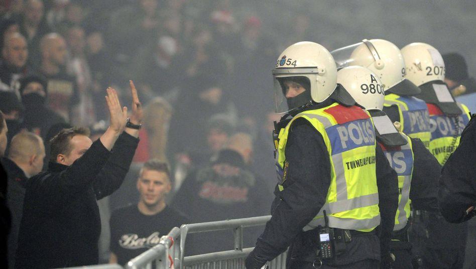 Randale in Schweden: DFB hat Ermittlungen aufgenommen
